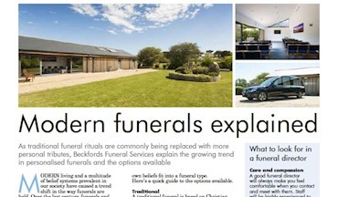 Modern Funerals Explained